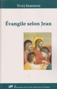 Evangile selon Jean couv livre FJD Y. Simoens