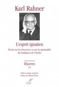 Livre Karl Rahner-l'esprit Ignatien