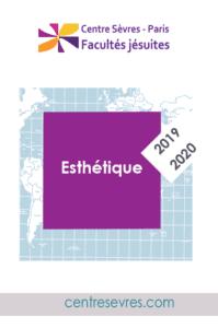 2019-2020 Cours et conférences Esthétique-centre sevres
