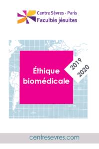2019-2020 Cours et conférences thique biomédicale-centre sevres