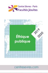 2019-2020 Cours et conférencesEthique publique-centre sevres