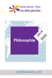 2019-2020 cours conférences Philosophie-centre sevres