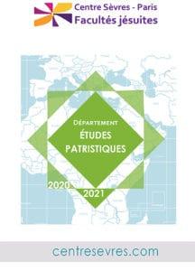 2020-2021 Etudes patristiques-centresevres