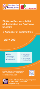 Diplôme_responsable en Pastorale et Animation_2019-2021-centresevres-cepi