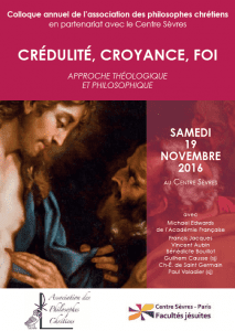 Tract Colloque Crédulité Croyance Foi 19-11-2016