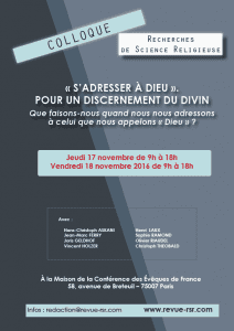 colloque RSR 17-18 nov 2016