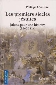 Les premiers siècles jésuites Plécrivain