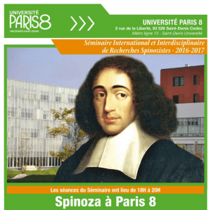 Seminaire Spinoza Paris 8