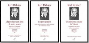 3 oeuvres Karl Rahner