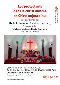 Conférence Protestantisme Chine