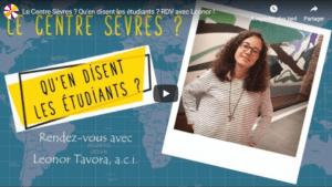 témoignage étudiant Leonor Tavora centre sevres