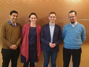 2020-janv Forums du centre sevres 3 etudiants et jerome chapuis-La Croix interrogent P Lombardi