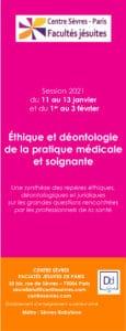 2020-2021_Session Ethique et deontologie de la pratique medicale et soignante_centresevres