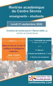 Journee de rentree sept 2020 -Alain Cugno - centre sevres