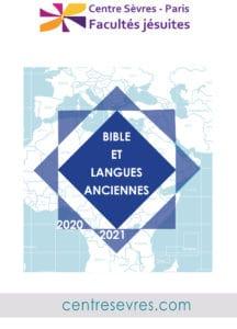 2020-2021 Bible et langues anciennes-centresevres 21-sept-20