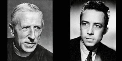 Le mal, une provocation, Camus versus Teilhard