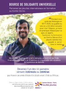 poster of International solidarity scholarships